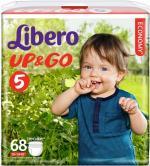 Подгузники-трусики Libero Up&Go Giga Pack (10-14 кг) 68 шт.