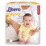 Подгузники Libero Baby Soft (4-9 кг) 90 шт.