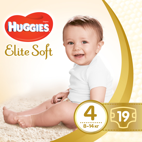 HUGGIES ELITE SOFT 4 19