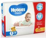 Подгузники HUGGIES Classic Mega Pack 4-9 кг 78 шт. р.3