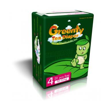 подгузники Greenty